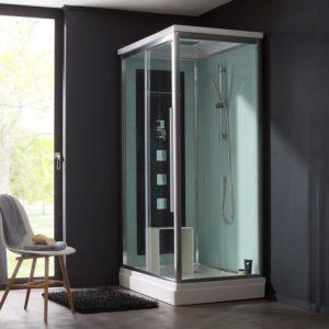 un cabine de douche à poser PlaneteBain
