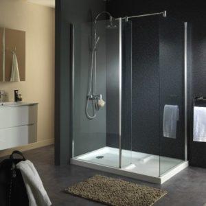 douche avec receveur intégré
