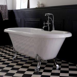 modèle de baignoire rétro
