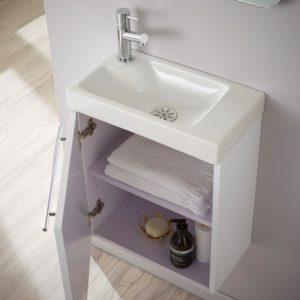 meuble lave mains design vente lavabo blanc pour wc. Black Bedroom Furniture Sets. Home Design Ideas