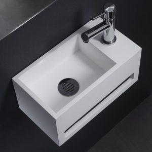 lave-mains en solid surface