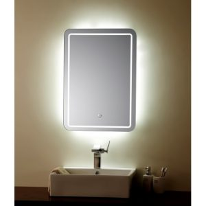 Miroir à LED sensitive 70x50 cm