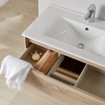 rangements avec un meuble sous-vasque