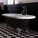 baignoire ilot vintage