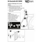 notice pour installation de douchette WC
